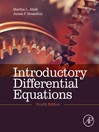 Introductory Differential Equations (eBook): with Boundary Value Problems