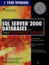 Designing SQL Server 2000 Databases (eBook)