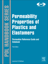 Permeability Properties of Plastics and Elastomers (eBook)