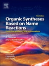Organic Syntheses Based on Name Reactions (eBook): a practical guide to 750 transformations
