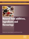 Natural Food Additives, Ingredients and Flavourings (eBook)