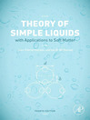 Theory of Simple Liquids (eBook): With Applications to Soft Matter