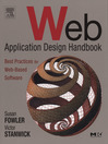 Web Application Design Handbook (eBook): Best Practices for Web-Based Software