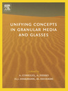 Unifying Concepts in Granular Media and Glasses (eBook): From the Statistical Mechanics of Granular Media to the Theory of Jamming