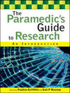 The Paramedic's Guide to Research (eBook): An Introduction