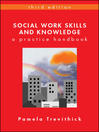 Social Work Skills and Knowledge (eBook): A Practice Handbook