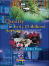 Quality in Early Childhood Services (eBook): An International Perspective