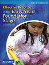 Effective Practice in the Early Years Foundation Stage (eBook): An Essential Guide