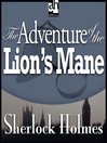 The Adventure of the Lion's Mane (MP3)