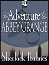 The Adventure of the Abbey Grange (MP3)