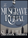 The Musgrave Ritual (MP3)