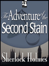 The Adventure of the Second Stain (MP3)