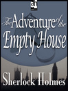 The Adventure of the Empty House (MP3)