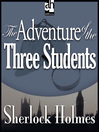 The Adventure of the Three Students (MP3)