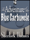 The Adventure of the Blue Carbuncle (MP3)