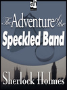 The Adventure of the Speckled Band (MP3)