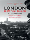 London From Punk to Blair (eBook)