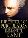 The Critique of Pure Reason (eBook)