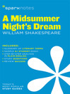 A Midsummer Night's Dream SparkNotes Literature Guide (eBook)