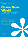 Brave New World SparkNotes Literature Guide (eBook)