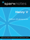 Henry V (SparkNotes Literature Guide) (eBook)