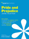 Pride and Prejudice SparkNotes Literature Guide (eBook)