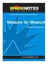 Measure for Measure (SparkNotes Literature Guide) (eBook)