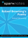 Robert Browning's Poetry (SparkNotes Literature Guide) (eBook)