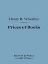 Prices of Books (eBook)