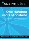 100 Years of Solitude (SparkNotes Literature Guide) (eBook)