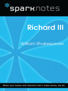 Richard III (SparkNotes Literature Guide) (eBook)
