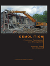 Demolition (eBook): Practices, Technology, and Management
