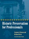 Historic Preservation for Professionals (eBook)