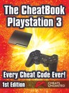 The CheatBook PS3 (eBook): Every Cheat Code Ever!