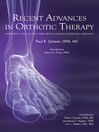 Recent Advances in Orthotic Therapy (eBook)