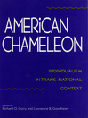 American Chameleon (eBook): Individualism in Trans-National Context