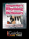 Songwriter's Rhyming Dictionary (eBook): Quick, Simple & Easy to Use. Rock, Pop, Folk & Hip Hop