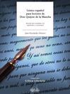 Léxico español para lectores de Don Quijote de la Mancha (eBook)