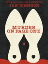 Murder on Page One (eBook)