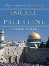 One Year in the History of Israel and Palestine (eBook)