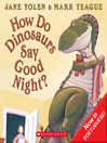How Do Dinosaurs Say Good Night? (MP3): Now in Portuguese