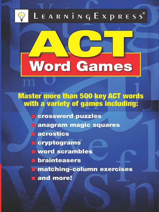 ACT Word Games (eBook)