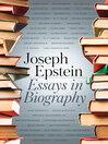 Essays in Biography (eBook)