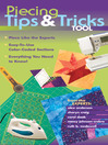 Piecing Tips & Tricks Tool (eBook): Piece Like the Experts - Easy-to-Use Color-Coded Sections - Everything You Need to Know!