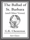 The Ballad of St. Barbara (eBook): (And Other Verses)