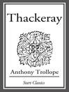 Thackeray (eBook)