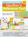 All-in-One Quilter's Reference Tool (eBook): Easy-to-Follow Charts, Tables & Illustrations, Yardage Requirements, Cutting Instructions, Setting Secrets, Choosing Supplies, Piecing Techniques, Number Conversions, & More!