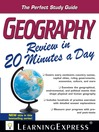 Geography Review in 20 Minutes a Day (eBook)