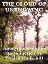 The Cloud of Unknowning (eBook)