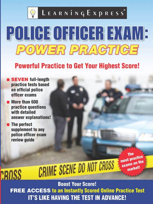 Police Officer Exam (eBook): Power Practice